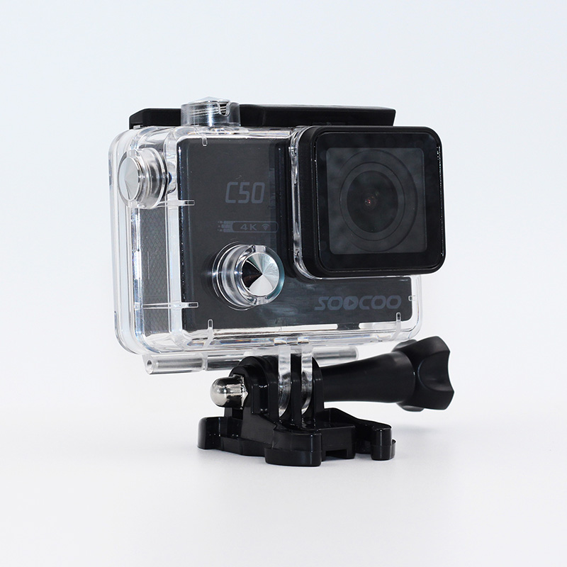 SOOCOO C50 4K 24fps Action Camera Wifi Gyro 2.0 LCD Screen 12MP Action Sports Camera 30M Waterproof Sport DV Camcorder f88 action camera black