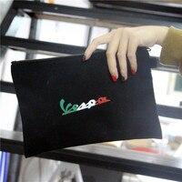 KODASKIN Sacs À Main De Stockage D'embrayage Fourre-Tout Sacs Porte-Monnaie pour Vespa Moto Cadeaux