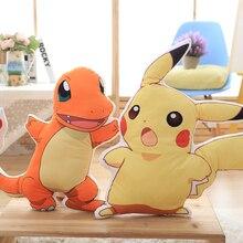 2019 New Pikachu Plush Toy Charmander Cute Anime Toys Childrens Gift Kids Cartoon Peluche Doll