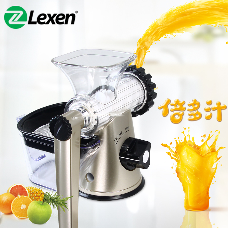 Stainless Steel Hand wheat Grass Juicer manual Auger Fruit Wheatgrass Vegetable orange juice extractor machine ice cream machine latest manual lexen wheatgrass juicer healthy fruit juicer machine 1 set