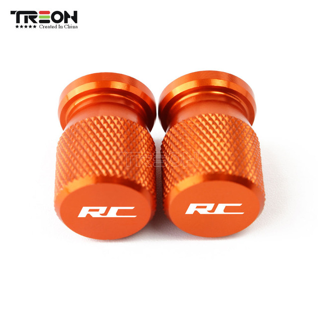 For KTM RC 125 200 390 Duke 125 200 390 250 790 2013-2019 Motorcycle Accessorie Wheel Tire Covers Motorcycle Valve Stem Caps 4