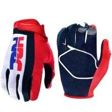 Торговля HRC Мотоциклетные Перчатки Горные перчатки для горного велосипеда перчатки для велоспорта мужские профессиональные перчатки для мотокросса полный палец