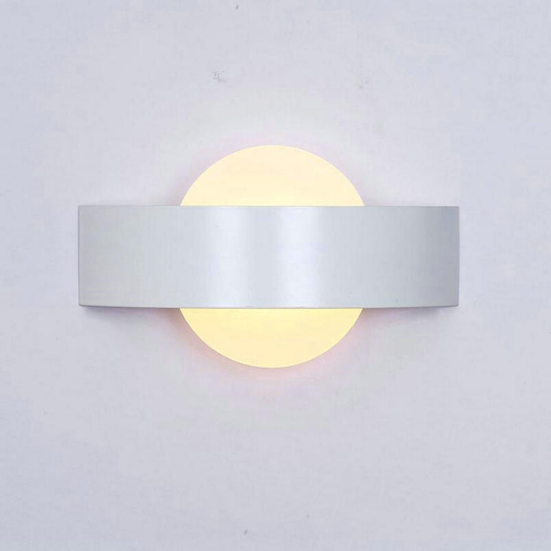 2pcs/lot Spot supply modern simple bedside LED bedroom lamp 10W LEED wall lamp Chinese creative LED aisle bedroom lamp sales modern lamp trophy wall lamp wall lamp bed lighting bedside wall lamp