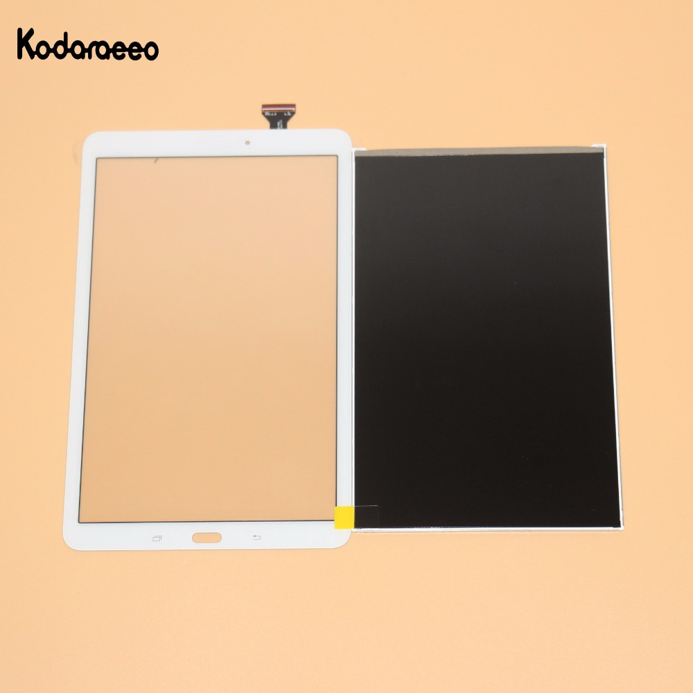 High Quality Touch Screen Digitizer Glass+LCD Display For Samsung Galaxy Tab E 9.6 SM-T560 SM-T561 T560 T561 Prats White gold silver color circle colorful tassel drop earrings