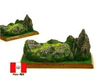 Hot Sale U S Peru Machu Picchu Creative Resin Crafts World Famous Landmark Model Tourism Souvenir