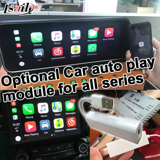US $382 5 15% OFF|Android 6 0 GPS navigation box for Volkswagen Touareg  RNS850 system video interface box with carplay youtube waze yandex navi-in