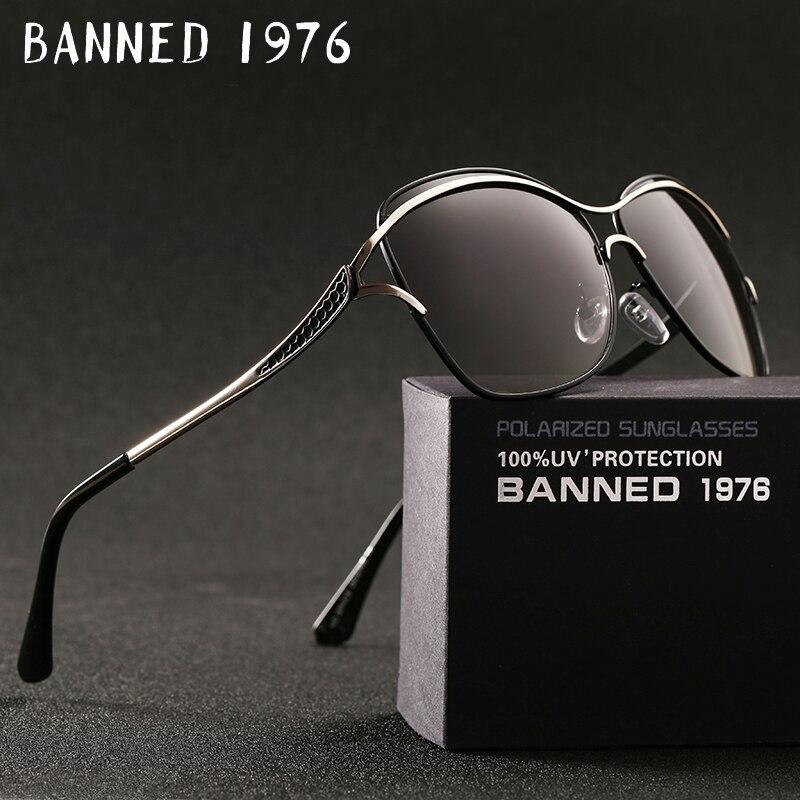 BANIDO Da Moda nova chegada de Design Da Marca Óculos De Sol Das Mulheres Populares Óculos Polarizados Óculos de Sol Verão Óculos de Sol Com Caixa Original