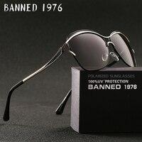 BANNED Fashion New Arrival Sunglasses Women Popular Brand Design Polarized Sunglasses Summer Sun Glasses With Original