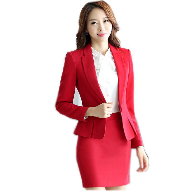 2018 Autumn/Winter Jacket & Blazers Women Plus Size Gray Simple Women Blazer Tops Korean OL Style Coat One Button Blazer Female
