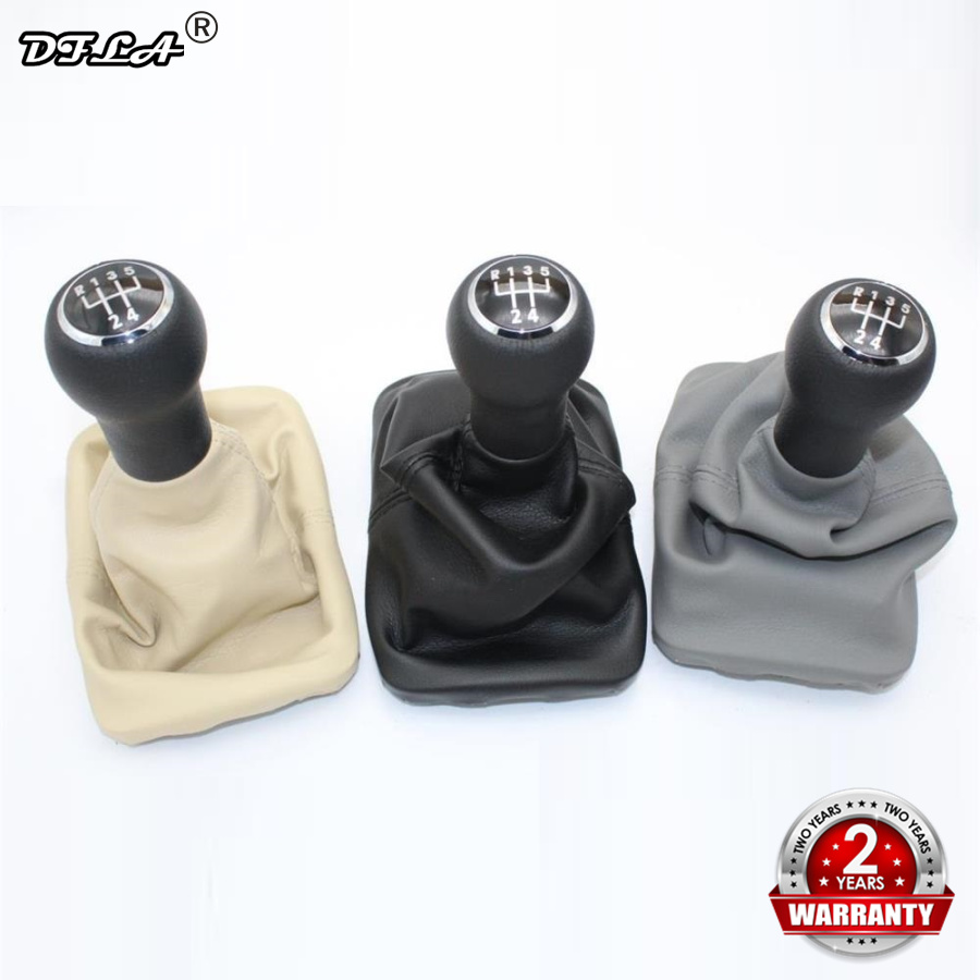 For VW Beetle 1998 1999 2000 2001 2002 2003 2004 2005 2006 2007 2008 2009 2010 New 5 Speed Gear Stick Shift Knob Leather boot стоимость