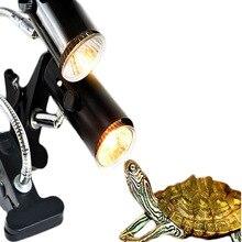 Держатель нагревательной лампы керамический нагрев UVA+ UVB держатель лампы аквариумное освещение рептилия, черепаха температура среды обитания E27 Цоколь лампы