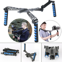 New 2017 DSLR Camera Filmmaking System Rig Shoulder Mount Stabilizer For Canon 5D Mark II 1D