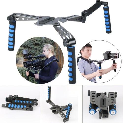 new 2017 DSLR Camera Filmmaking System Rig Shoulder Mount Stabilizer for Canon 5D Mark II 1D