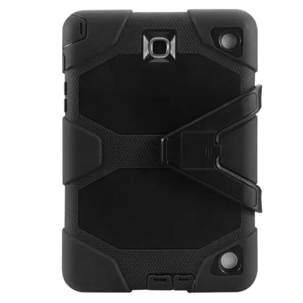 3-Layers Heavy Duty Armor Cover For Sumsung Galaxy Tab A 8.0 Inch 2015 SM-T350 SM-T355 SM-P350 SM-P355 Kickstand Case