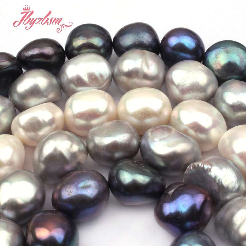 Free Shipping Natural Purple Drop Drilled Strand Baroque Irrugular Pearls Beads For Jewelry Making Diy Bracelet Necklace Handsome Appearance Beads & Jewelry Making