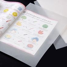 50 листов формата А4, полупрозрачная нарисованная калька для манги, художественного архитектурного дизайна, графического технического рисунка