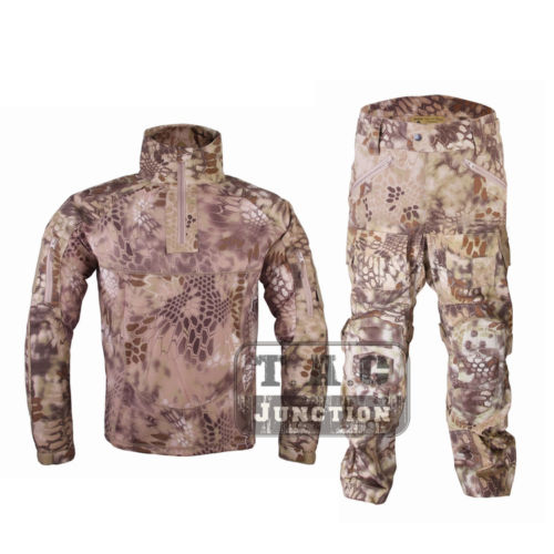Emerson All Weather Combat BDU Uniform Set Suit EmersonGear Tactical Camouflage Shirt & Pants Airsoft Military Hunting Clothing army military uniform tactical suit equipment bdu desert camouflage combat airsoft cs hunting uniform clothing set jacket pants