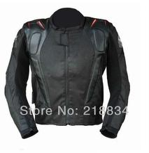 FREE SHIPPING spring and summer Motorcycle jacket racing jacket motorcycle racing suits send 5pcs/set protective gear