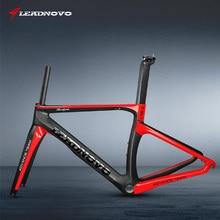 цена на 2017 Model New Concept Toary Carbon Road Bike Frame Racing Bicycle Frames Bike Frameset Size XXS/XS/S/M/L/XL