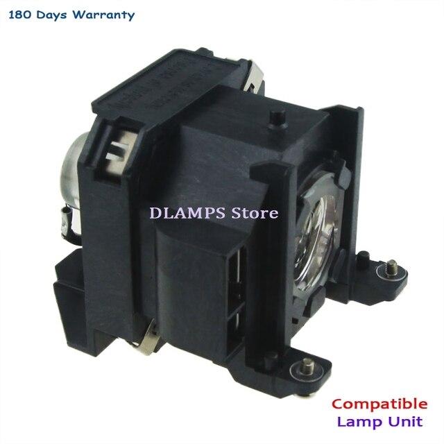 החלפת EMP 1700 EMP 1705 EMP 1707 EMP1710 1715/1717 EX100 1700c 1705c מקרן הנורה עם דיור V13H010L38 עבור EPSON