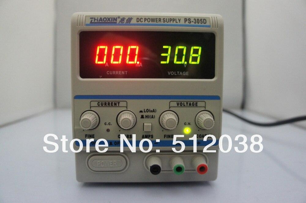 Precision Lab PS-305D Variable 30V 5A DC Power Supply 220V / 110V 1pcs 30v 5a adjustable digital dc switch power supply professional 110v 220v precision variable dual digital dc power supply