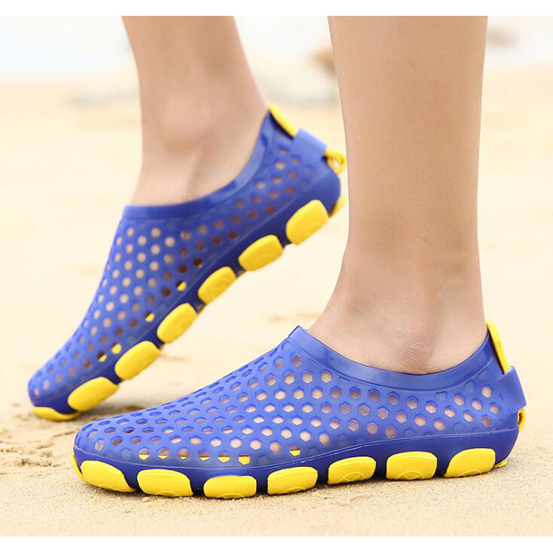 mens plastic sandals