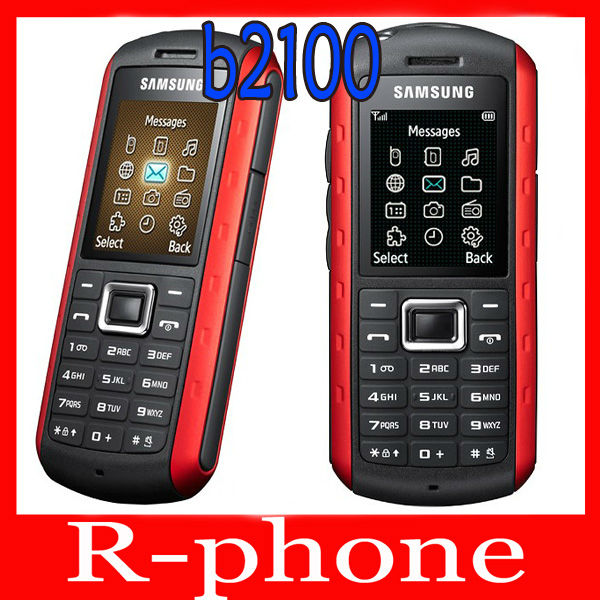 Original Samsung B2100 Mobile Phone 3G Unlocked 2MP Bluetooth Refurbished B2100 Cellphone feature phone