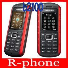 Original samsung b2100 xplorer desbloqueado telefone móvel 1.3mp bluetooth remodelado b2100 celular