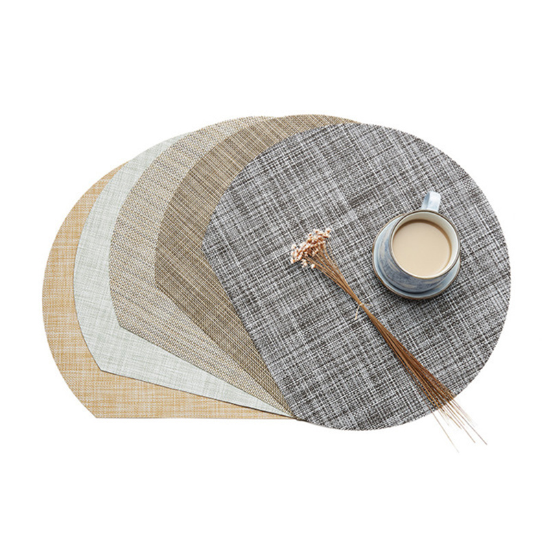 2 4 8PCS Non Slip Place Mat Napkins On The Table Individuales Table Mat For Dining