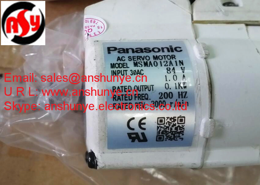 AC SERVO MOTOR MSMA012A1N, Second Hand Looks Like new Tested Working yaskawa ac servo motor sgm a5a3nt14 second hand looks like new tested working