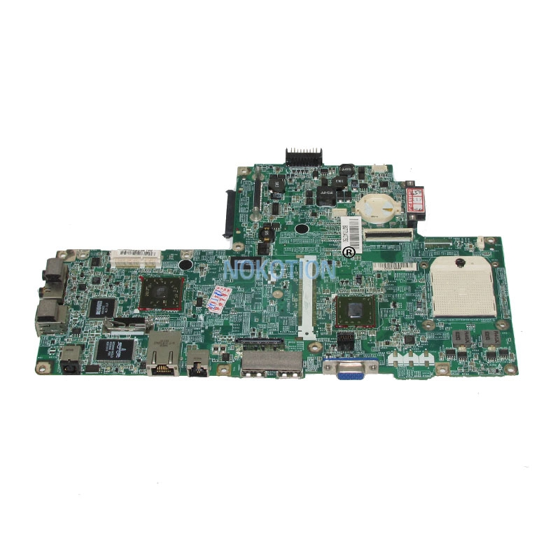 NOKOTION CN-0UW953 0UW953 UW953 laptop Motherboard For Dell inspiron 1501 DDR2 SOCKET S1 mainboard free cpu nokotion laptop motherboard for dell inspiron n7010 mainboard ddr3 0gkh2c cn 0gkh2c gkh2c da0um9mb6d0 without graphics card