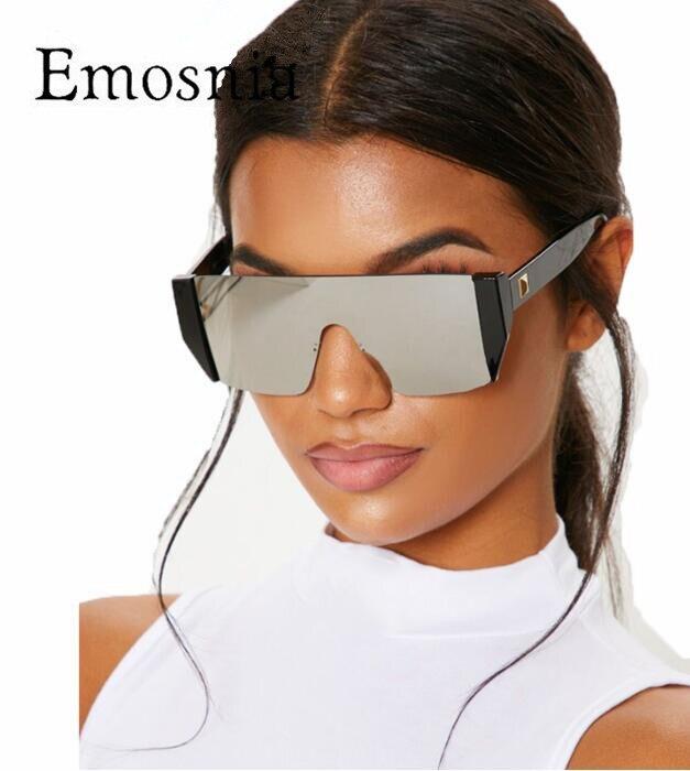 Emosnia carré lunettes de soleil femmes Vintage rue avant-gardiste petit cadre lunettes de soleil hommes personnalité extérieure lunettes de soleil