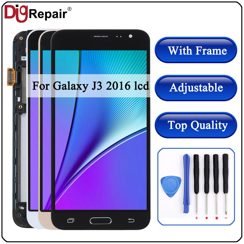 J320F LCD Display Touch-Screen Samsung Galaxy Digitizer Frame For