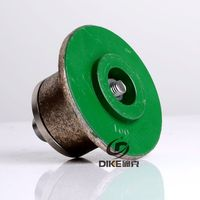 100# shape A diamond profiling wheel portable grinding machine for stone granite concrete
