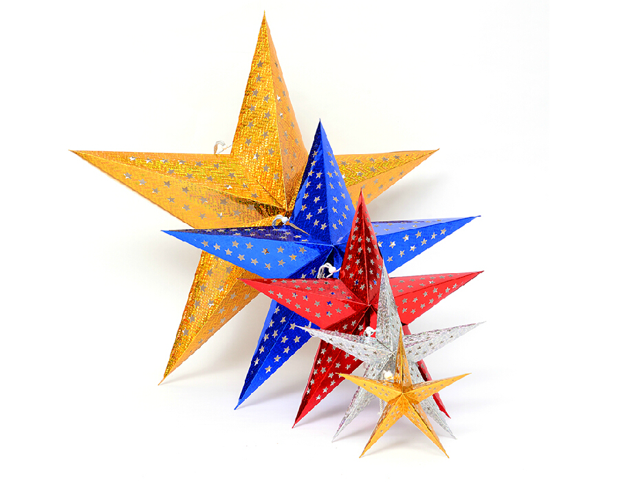 60cm 크리스마스 스타 Xmas 크리 에이 티브 귀여운 크리스마스 트리 홈 실내 장식 최고의 선물