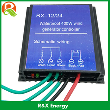 Wind controller for 100/300/400/600w max wind generator