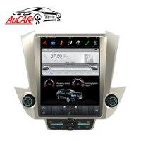 AuCAR Tesla стиль 6,0 Android 12,1 автомобильный DVD для GMC Yukon Chevrolet Tahoe Suburban 2015 радио gps навигация вертикальные ips AUX
