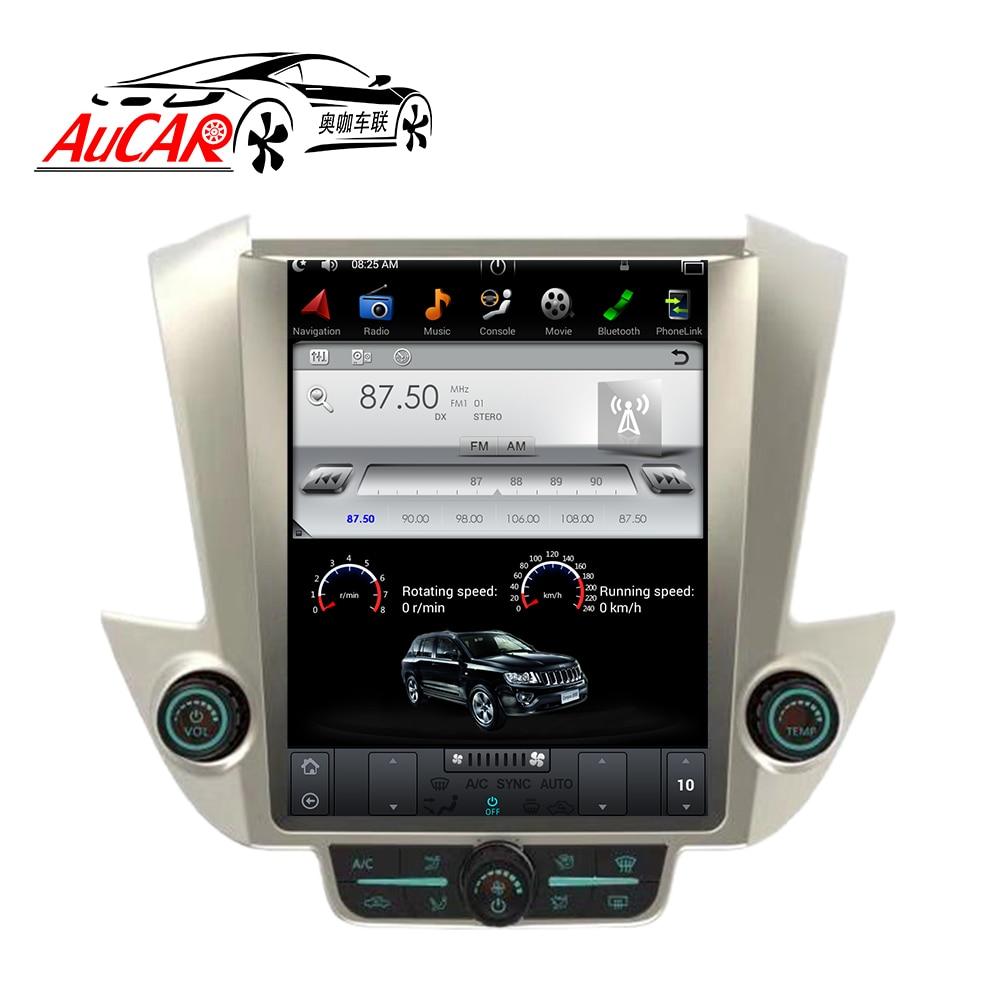 AuCAR Tesla Style 12.1 Android 6.0 DVD De Voiture pour GMC Yukon Chevrolet Tahoe Suburban 2015-Radio GPS Navigation vertical IPS AUX