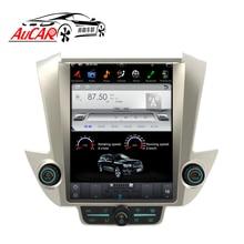 AuCAR Tesla стиль 12,1 «Android 6,0 Автомобильный DVD для GMC Yukon Chevrolet Tahoe Suburban 2015-радио gps навигация вертикальные ips AUX