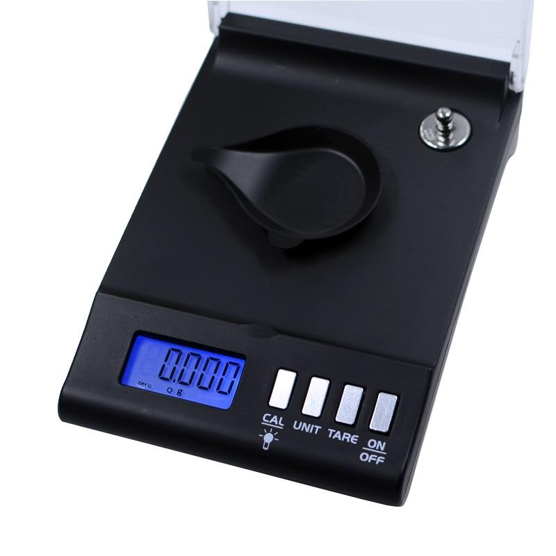 CNcuca 0.001g//20g Mini Size Digital LCD Balance Weight Milligram Pocket Jewelry Diamond Scale Portable Balance Weight