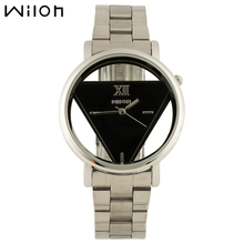 WILON Ms. informal out of doors sports activities watches hole clear quartz watch stainless-steel watch ladies personalised vogue watches