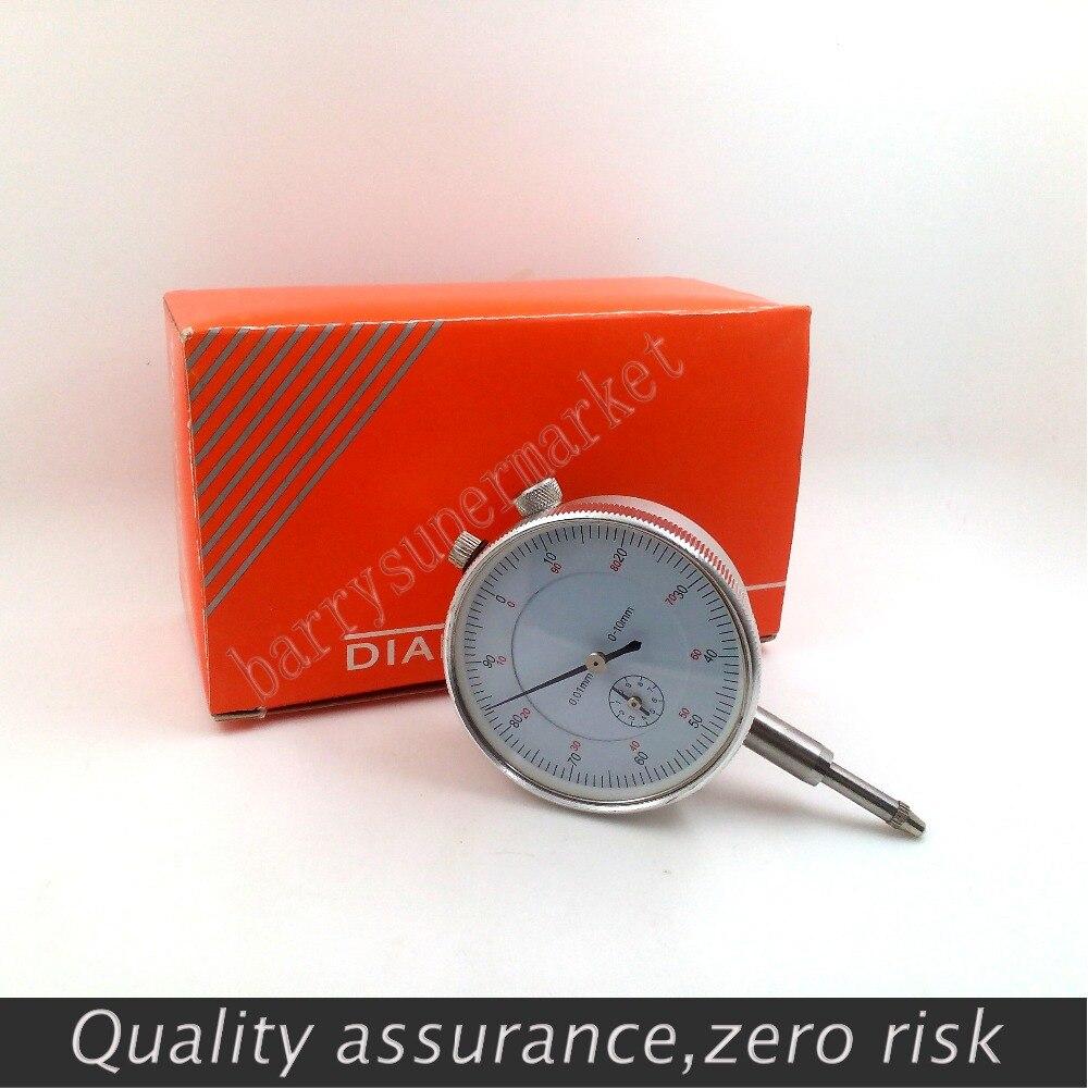 micrometer Dial Indicator mikrometer Gauge 0-10mm 0.01mm Measurement Instrument Round Vertical micrometer Dial Indicators