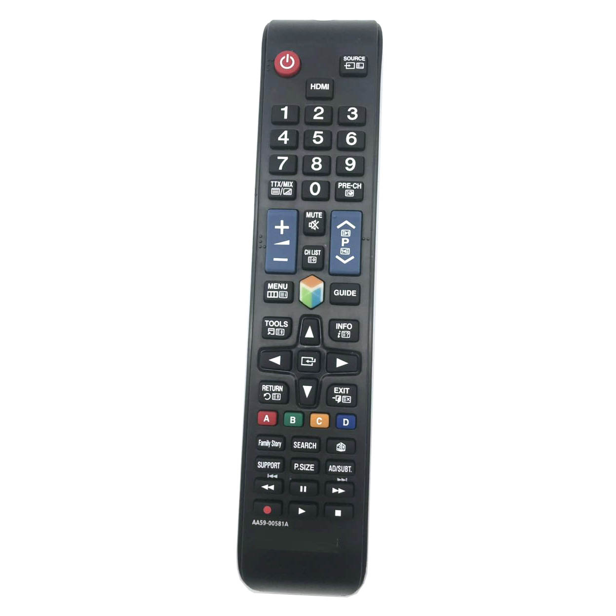 For <font><b>Samsung</b></font> TV Remote Control AA59-00581A AA59-00581 AA59-00582A <font><b>BN59</b></font>-<font><b>01198Q</b></font> <font><b>BN59</b></font>-01198C TV Remote Control image