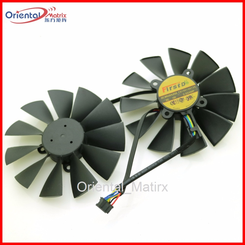 FD10015H12S 12V 0.55A 95mm 28*28*28*28mm VGA Fan For ASUS Graphics Card Cooling Fan personal computer graphics cards fan cooler replacements fit for pc graphics cards cooling fan 12v 0 1a graphic fan