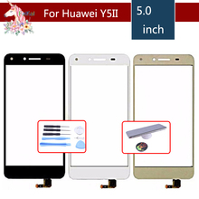 цена на For Huawei 5A Y5II Y5 II CUN-L01 CUN-L23 CUN-L03 CUN-L33 CUN-L21 LYO-L21 Touch Screen Digitizer Sensor Outer Glass Lens Panel