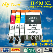 4 Pcs Compatible Ink Cartridge For HP903XL , Suit for HP Officejet Pro 6960 6961 6963 6964 6965 6966 6968 6970 6971 6974 etc ..