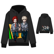 My Hero Academia Kirishima and Bakugo Print Hoodie