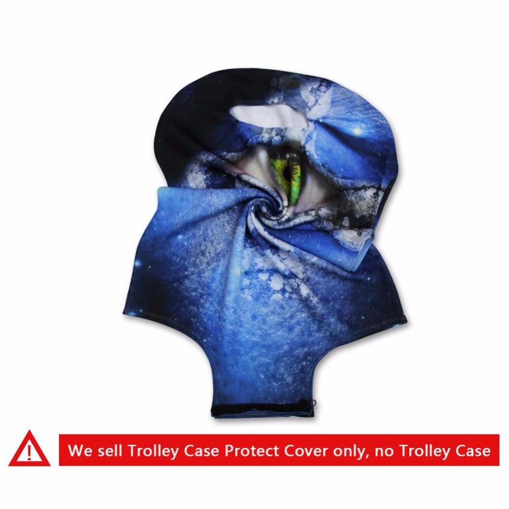 Forudesigns/Эластичный путешествия Чемодан Защитная крышка сделанная S/M/L, чтобы чемодан 18-30 дюймов тележка Protecter крышка Туристические товары