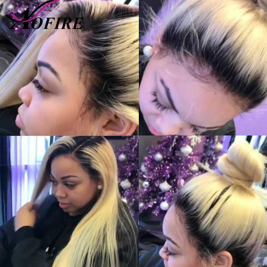 1B 613 блондинка человеческие волосы парик с волосами младенца предварительно выщипанные волосы девственницы Малайзии шелковистые прямые для белых женщин полный...