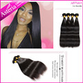 Alipearl Hair 7A Grade Brazilian Virgin Hair Straight Unprocessed Human Hair Weaves 4 Pcs 8-30inch Brazilian Hair Bundles Deal